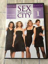 sex and the city saison 1 DVD épisodes 1 2 3 4 5 6