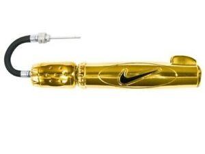 Nike Elite Dual-Action Sports Pump, Gold Metallic