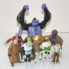 Ben 10 8 Jouet Figure Bundle (Ultimate Spidermonkey Patelliday dnalien NRG)