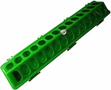 """20"""" GREEN RITE RARM PRODUCTS POLY FLIP TOP CHICKEN FEEDER FOR POULTRY CHICK COOP"""