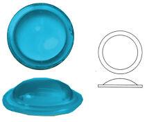 Bleiverglasungstein Bullauge glatt aus Glas, 1 Stk., rund, Ø ca. 25 mm, h ca. 6