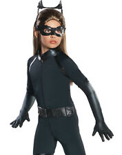 Catwoman Batman Girls The Dark Knight Rises Halloween Fancy Child Costume L