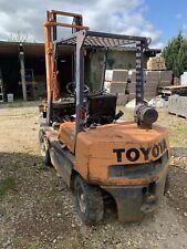 More details for toyota forklift diesel