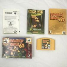 Donkey Kong 64 (Nintendo 64, 1999) IN BOX With Original Manual