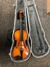 Violin 1/2 Size Glaesel with Hard Case No Bow