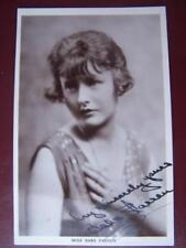 Babs Farren- Autograph / Signature