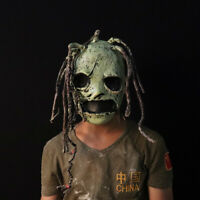 Slipknot Latex Mask Scary Horrible Dreadlocks Cosplay Halloween Fancy dress Prop
