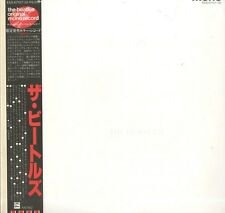 BEATLES WHITE ALBUM JAPAN RED MONO 2 LP JAPAN OBI EAS-67157-58 4 PHOTOS & POSTER