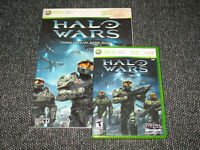 """""""Halo Wars""""  Xbox 360 Official Game & Guide/Preowned Game/New Guide Ships Boxed!"""