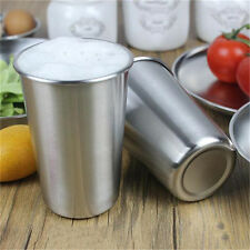 Stainless Steel 500 ML Beer Cup Coffee Tea Water Drink Cup Kitchen Bar Tool