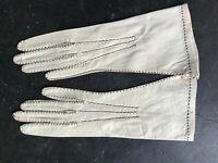 Paire de gants de Grenoble, cousu main vers 1900/1930 NEUF DE STOCK T: 6