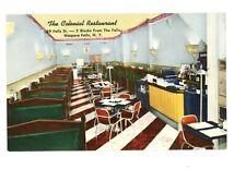 Art Deco Colonial Restaurant Niagara Falls, New York c 1940s