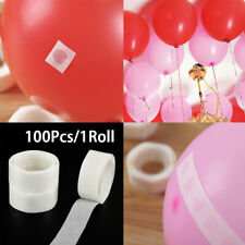 100 Dots Double Sided Sticky Glue Adhesive For DIY Wedding Balloon Decorative