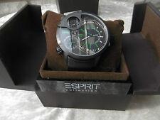 Esprit Collection EL101431F02 Poseidon Night . Armband Uhr Herren OVP 219 Euro