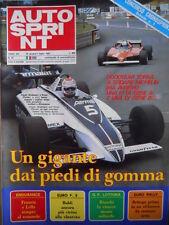 Autosprint n°27 1981  Poster Fotoclub  Talbot Ligier Laffite [P12]