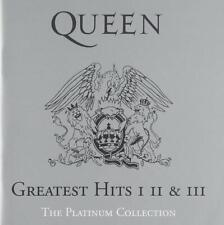 Queen Greatest Hits I II & III The Platinum Collection Box 3 CD Nuovo Sigillato