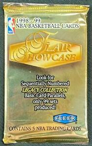 1998-99 FLAIR SHOWCASE BASKETBALL PACK **CARTER ROOKIE** MINT!
