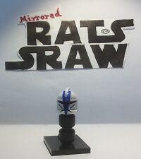 - Minifiguras Lego Star Wars Clone Trooper casco personalizado 501st