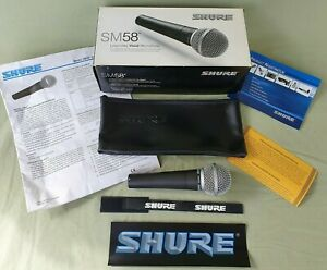 Shure SM58-LCE Legendary Vocal Unidirectional Dynamic Microphone (wired) Boxed