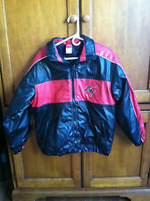 Tampa Bay Buccaneers Bucs Pirates black and red winter jacket NFL size XL