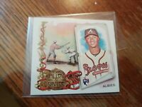 2018 Topps Allen & Ginter #N43-16 ozzie albies Boxloaders SP rc rookie braves