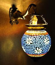 Antique Down Lighting Glass Wall Lamp Elephant Modern Home Light Lamps Shade 13