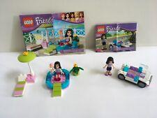 LEGO Friends 3931 & 30103 Emma's Splash Pool & Car w/ Instruction, Complete