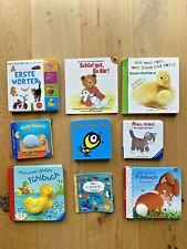 Sammlung  Baby 9 x Bücher  Erste Wörter Fühlbuch Soundbuch Konvolut