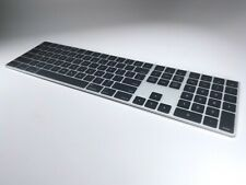 EXCLUSIVE! 2019 Apple Mac Pro Magic Keyboard, silver with black keys RARE!