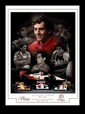 AYRTON Senna montaggio Stampa