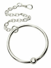 ANTOMUS® SOLID 925 SILVER HALLMARKED  BABY TEETHING RING. MADE IN ENGLAND