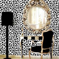 Leopard Skin Stencil Pattern - LARGE - Trendy Wall Stencils for DIY Home Decor