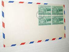 Washington Territory 100thAnniv. FDC  3 cent Stamp (Airmail Envelope, 1953)