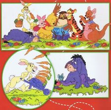 Winnie The Pooh & Friends 100 Acre Wood Cross Stitch Chart - 8 Designs