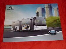 GOLDEN DRAGON XML6125CL City Bus China Prospekt Brochure von 2012