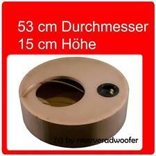 """Reserveradgehäuse für 25cm / 10"""" Woofer, Größe S mit 23 Liter"""