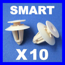 SMART FORTWO COUPE 451 INTERIOR REAR ROOF LINING TRIM PANEL CLIPS