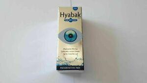 Hyabak For Dry Eyes - 10ml