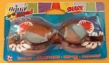 Aqua Splash Blue Shark Goggle Latex Free age 7+