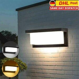 18W LED Außenleuchte mit Bewegungsmelder LED Wandleuchte Wandlampe Sensor Modern