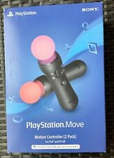 Sony PlayStation Move Motion Controller 2 Pack PS4 PS VR Game New