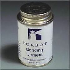 2 TORBOT GROUP OSTOMY SKIN BONDING ADHESIVE CEMENT GLUE 4oz BRUSH TOP CAN BEST B