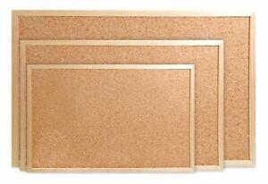Korktafel mit Holzrahmen Wandtafel Pinntafel Pinnwand Pinwand 50x70