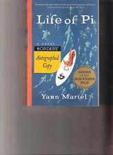Life of Pi Yann Martel Signed First PB Edition 2003