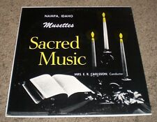 Sacred Music Musettes ER Carlsson~RARE Private Christian Worship Nampa ID~FAST!