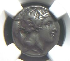 Greek Silver Stater from Lucania Thurium 350-300 BC  NGC VF   5006