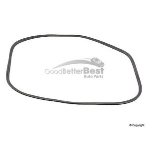 One New OE Supplier Windshield Seal 64454190100 for Porsche