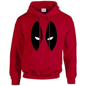 Deadpool Hoodie - Inspired Novelty Hoody Adult Mens Kids Unisex