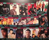 Yo MTV Raps Trading Cards - 17 Total - 1991 - Series 1 Vintage Cards - Hip Hop