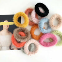 Women Soft Scrunchie Hair Ring Rubber Band Hair Ties Hairband Hair Accessories